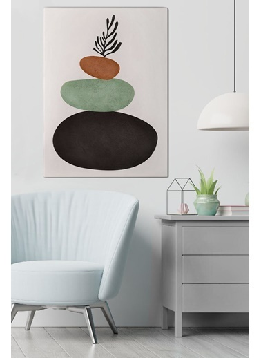 MarkaEv Canvas Modern Tablo 0177 Renkli